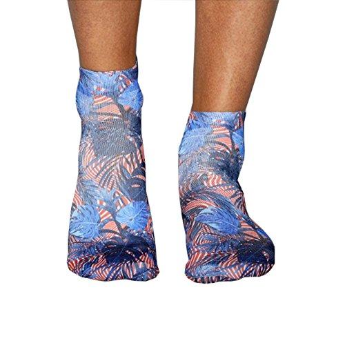 Wigglesteps Herrensneaker Sneaker MARINE LEAFS Farbe jeans, Größe One Size