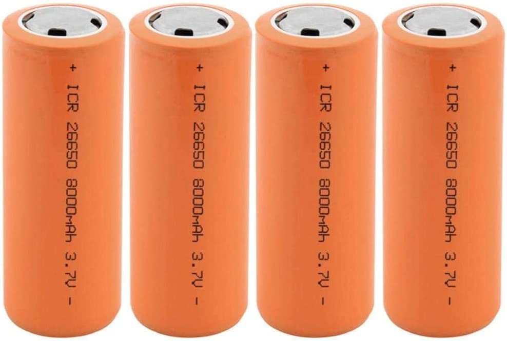 26650 3.7v 8000mah Battery Fla for price Rechargeable Our shop OFFers the best service Suitable