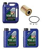 7 Liters Liqui Moly Race Tech 10W-60 Synthetic Motor Oil & 1 Mann Oil Filter BMW Z4 M3