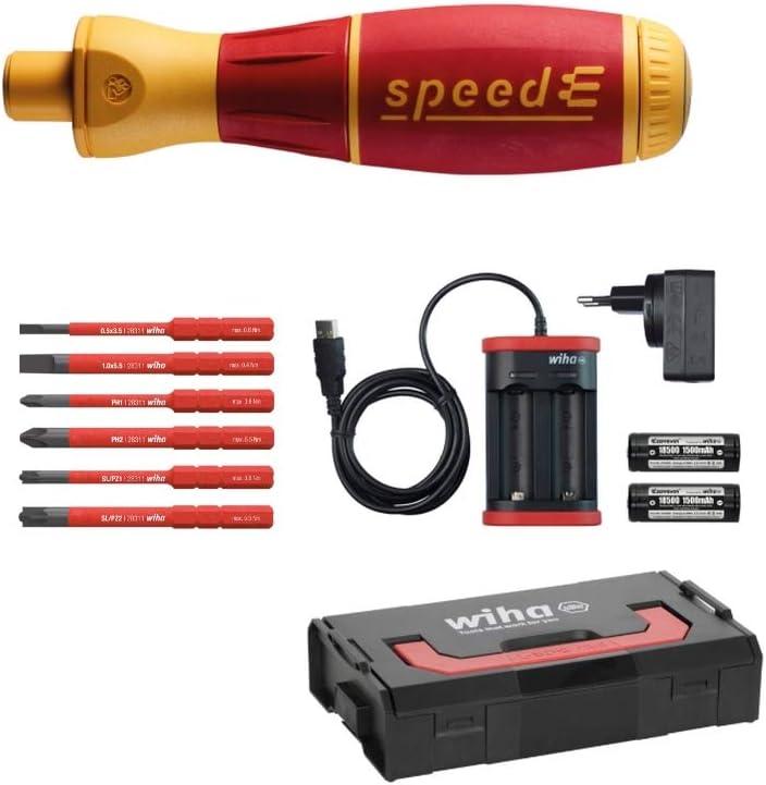 Wiha 1 destornillador eléctrico, rojo, 590T101 12.6W, 240V