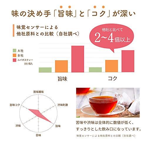 ティーライフルイボスティー2.0g×101個(ノンカフェインルイボス茶水出しお茶ティーバッグ)