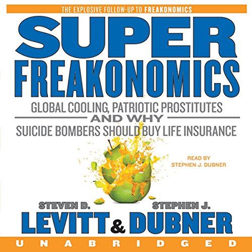 SuperFreakonomics audiobook cover art