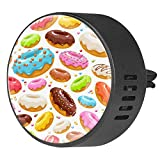 2PCS Car Aromatherapy Essential Oil Car Diffuser Fragrance Vent Clip Air Freshener Donuts Sweet Bakery Blanket
