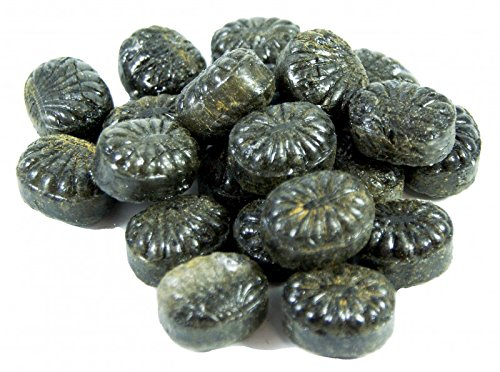 Rexim Dansk Peber Salmiak-Bonbons mit Pulverfüllung 300 g