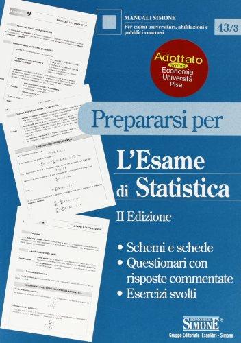 Prepararsi per l'esame di statistica