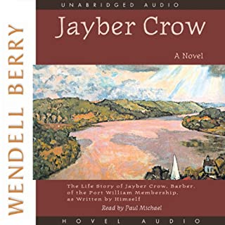 Jayber Crow audiobook cover art