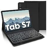 AVNICUD Tastiera con Custodia per Samsung Galaxy Tab S7 11'' 2020, Tastiera Staccabile Bluetooth con...