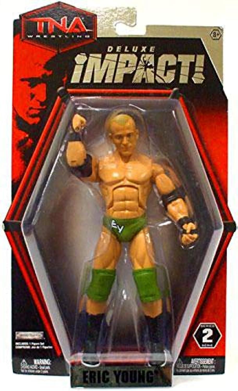 Jakks Pacific Toys TNA Deluxe Impact Action Figure  Eric Young