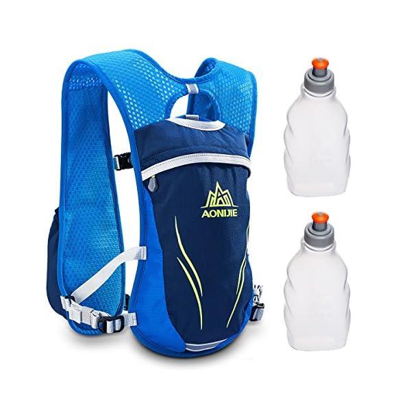51HzGOiT04L. SS600  - Geila Mochila de hidratación, Chaleco de hidratación al Aire Libre Sport Trail Marathoner Running Race Mochila Ligera…