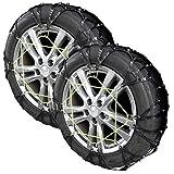 フォーシーズン(FOURSESON) ビッグフットタイヤチェーン非金属【A1サイズ】ブラック適合タイヤサイズ【155/65R13 165/60R13】 cr-tc-a1-bk cr-tc-a1-bk