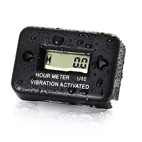 Temps Couteau voiture Vibration Compteur horaire de fonctionnement pour ATV Moto Motoneige Bateau étanche