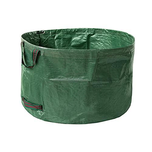 suukua Standard 63 Gallons Garden Yard BagReusable Foldable Leaf Trash Bags Lawn Pool Garden Leaf Waste Bag