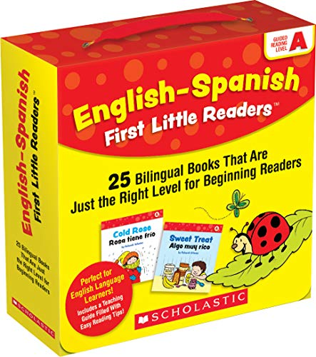 English-Spanish First Little Readers: Guided Reading Level A (Parent Pack): 25 Bilingual Books That are Just the Right Level for Beginning Readers -  Deborah Schecter, Paperback