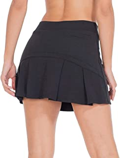 Tennis Skorts for Women Golf Skirts with Pockets Athletic Sports Running Active