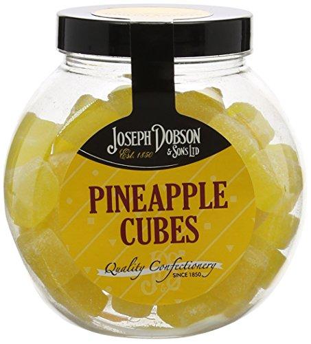 Joseph Dobson Pineapple Cubes Gift Jar, 400g