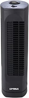 OPTIMUS F-7300 Desktop Ultra Slim Oscillating Tower Fan, 17-Inch
