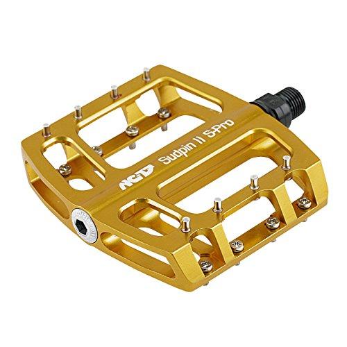 NC-17 Sudpin II S-Pro CNC Plattform Pedale / Fahrrad Pedal MTB / Mountainbike Pedal / BMX Pedal / Gleitlager und Kugellager / Cr-Mo Achse