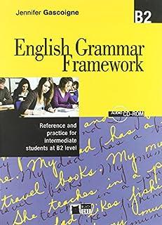 scheda english grammar framework b2+cd [lingua inglese]: book + audio cd/cd-rom b2