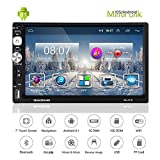 Car Radio-Car Stereo Double Din Universal 7 Inch Indash Android 8.1 Touch Screen