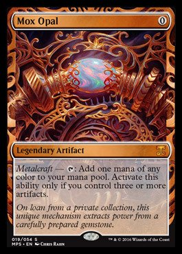 Magic The Gathering - MOX Opal (019/054) - Masterpiece Series: Kaladesh & Aether Revolt Inventions - Foil