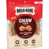 Milk-Bone Gnaw Bones Rawhide Free Chew Treats for Dogs, Chicken, 16...