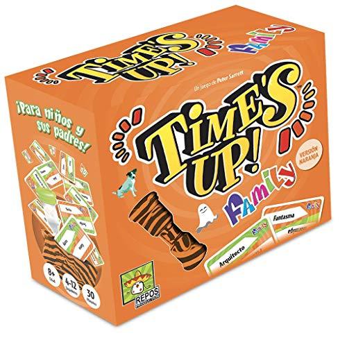 Time 's Up.–Family 2, couleur orange (repos production rptufa02), version espagnole