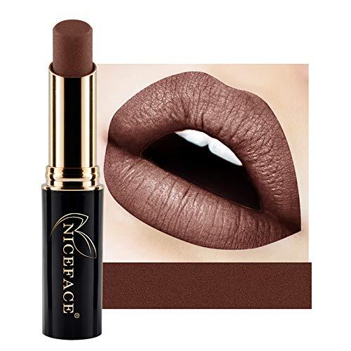 IFOUNDYOU Neues Angebot Feuchtigkeits Spendende Lippenstift Matte Lipgloss, Lang Anhaltende Finish Matte Lippenstift FüR Lip Make Up