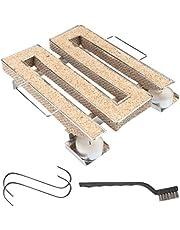 riijk Koudrookgenerator voor koud roken in rookoven, grill enz. | rookslak – spaarrand koude rookgenerator | rookspiraal voor rookspaanders | gratis haak en borstel