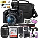 Best DSLR Cameras - Canon Rebel T7 DSLR Camera with 18-55mm DC Review
