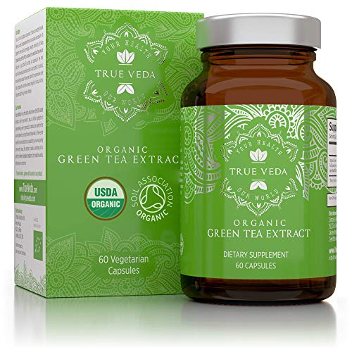 Organic Green Tea Extract Capsules