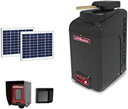 LiftMaster CSW24U Commercial Swing Gate Operator with 1) 210W Solar Panel Kit - Included Liftmaster 828LM Internet Gateway & Receive A Free Pliers 11 in 1 Multi-Tool with 11 Bits & Case