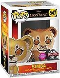 Funko Pop! Disney Lion King - Simba - Figurilla de Vinilo Bobble Head del Rey León...
