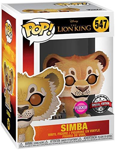 Der König der Löwen Il Re Leone Simba (Flocked) Vinyl Figure 547 Funko Pop! Standard Vinile