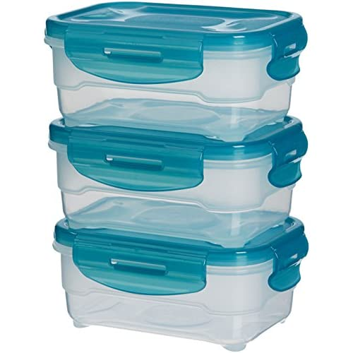 Set di contenitori per alimenti,3 pezzi da 0,60 L