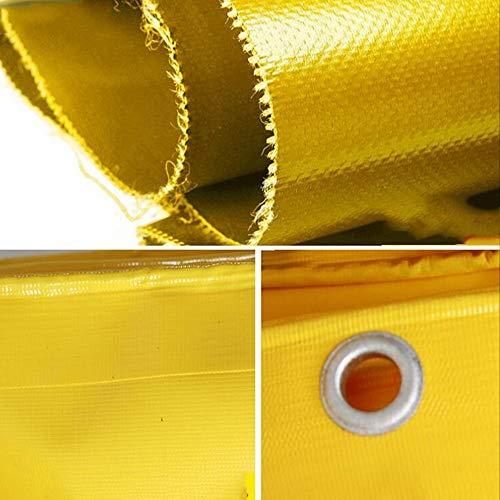 TTWUJIN Sombreado de la Tienda Paño a Prueba de Lluvia Lona de Protección Solar Impermeable Al Aire Libre Camión Lona a Prueba de Lluvia Lona de Pvc Lona Impermeable Paño Impermeable Paño de Toldo Es