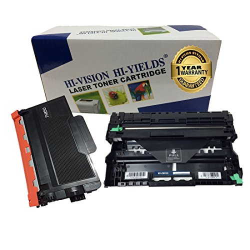 HI-VISION Compatible Brother TN-850, DR820 [TONER + DRUM] Replacement for MFC-L5800DW, MFC-L5850DW, MFC-L5900DW, MFC-L6700DW, MFC-L6750DW, MFC-L6800DW