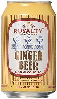 Royalty Ginger Beer 11oz -  4 Pack