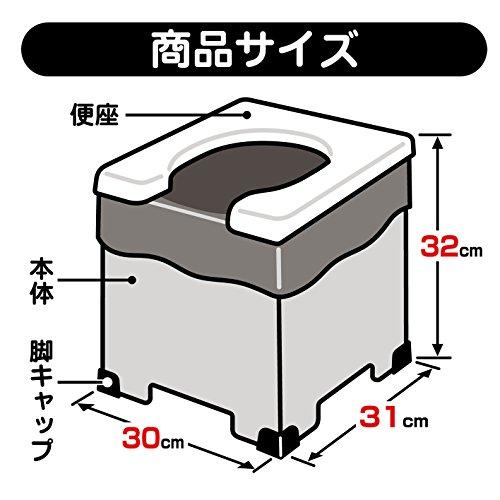 サンコー『非常用簡易トイレ』