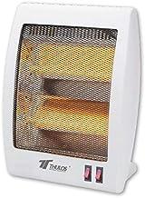 Estufa Cuarzo 2 Tubos 400/800W Calefactor Calentador Radiador Halógeno Calor