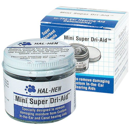 Hal-Hen Super Dri Aid Hearing Aid Dehumidifier Twо Расk