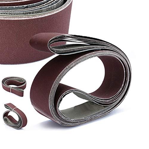 Schleifband 6pcs / Schleifbänder/2 x 72 Fine Sandpapier/Schleifpapier / 5x182cm für Bandschleifer