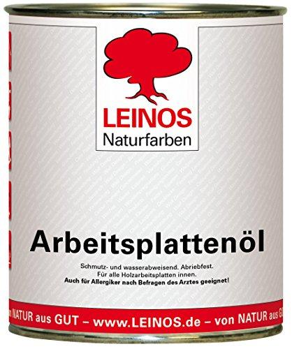 Leinos 280 Arbeitsplattenöl für Innen 0,75 l