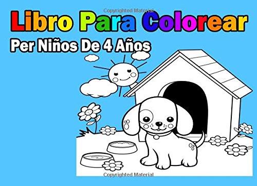 Libro Para Colorear Per Niños De 4 Años
