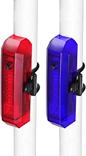 Amostik - Luz Trasera para Bicicleta (USB, 2 Unidades, luz