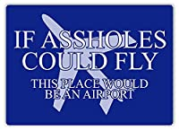 ろくでなしが飛ぶことができる場合ティンサイン壁鉄の絵レトロプラークヴィンテージ金属板装飾ポスターおかしいポスターぶら下げ工芸品バーガレージカフェホーム