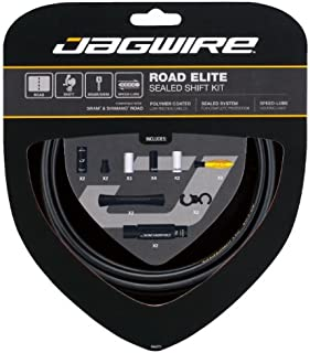 Jagwire Road Elite Sealed Shift Cable Kit Frozen Black, One Size