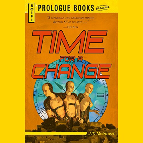 Time for a Change audiobook cover art