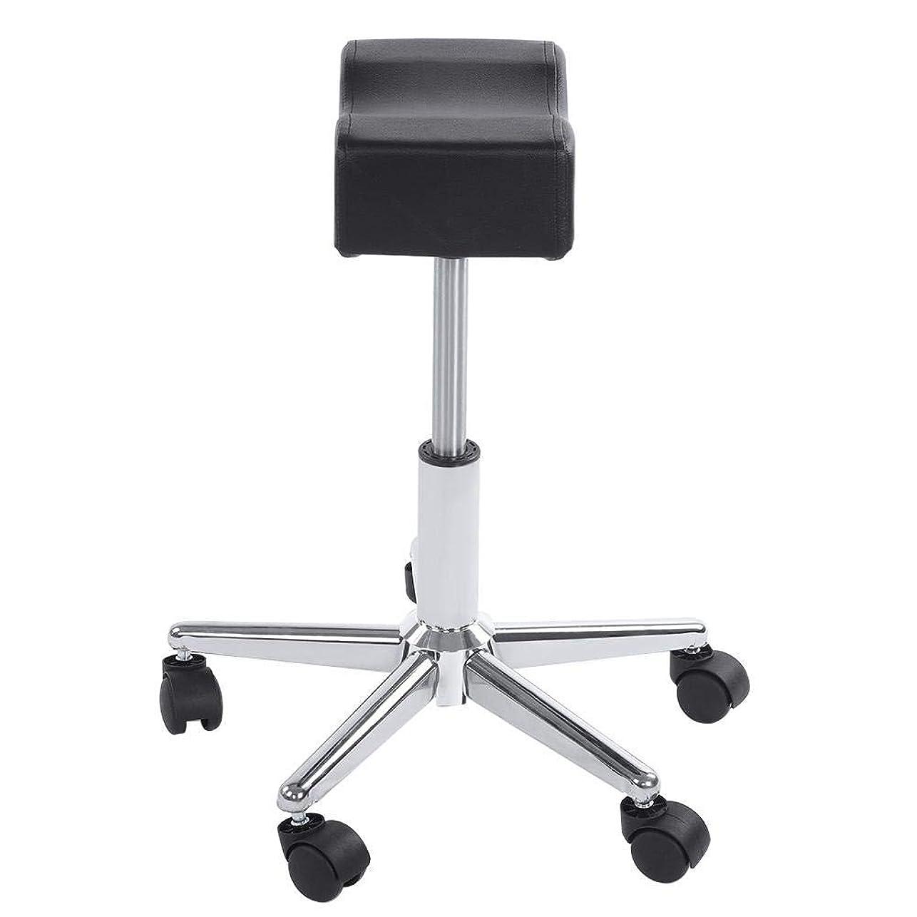 磁石特権的シンプルさ調節可能な椅子、調節可能な高さ油圧ローリング回転快適な座席クッションスツール用オフィスマッサージサロンキッチンスパ製図