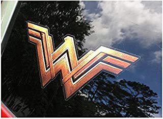 Decals ONLY Metallic Gold logos w//white stars NO MIXER INCLUDED Wonder Woman sticker set for KitchenAid stand mixers