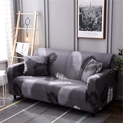 Housses de canapé élastiques géométriques Housses de canapé Extensibles pour Meubles de Salon Protecteur canapé Serviette Housse de canapé A19 3 Places